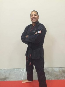 4th Degree Black Belt instructor Stan Riser