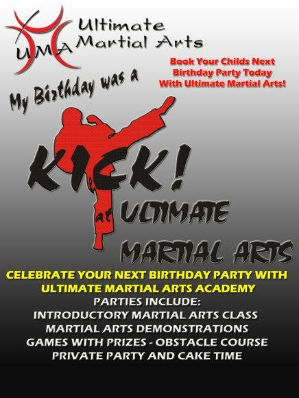 Ultimate Martial Arts Birthday Party