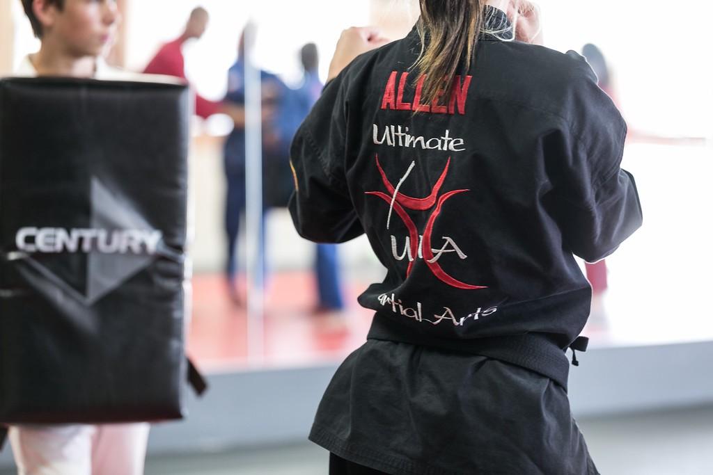 Karate Training at UMA Stillwater